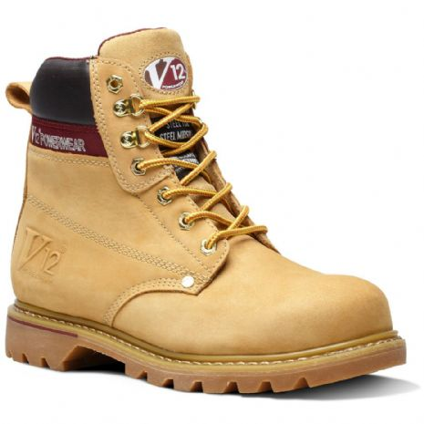 V1237 BOULDER HONEY NUBUCK DERBY BOOT